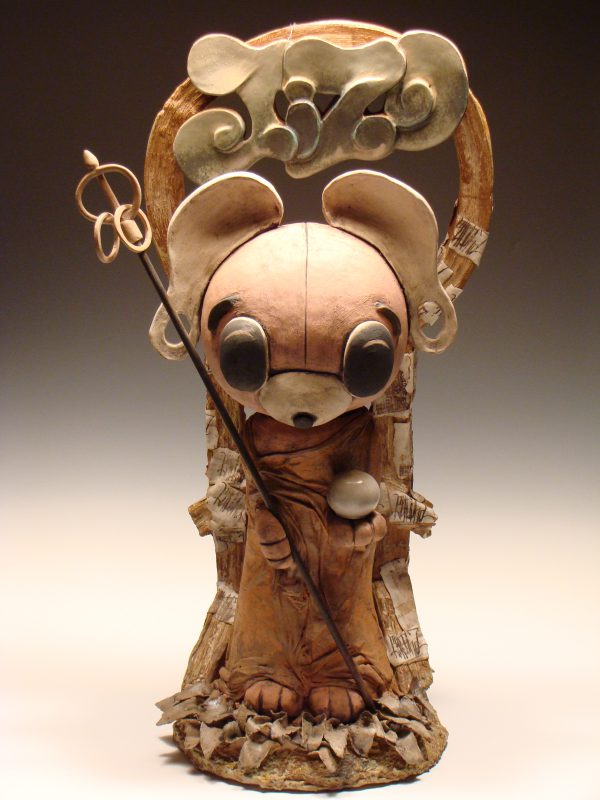 Jizo Kuma - Materials : Reduction Fired Stoneware
