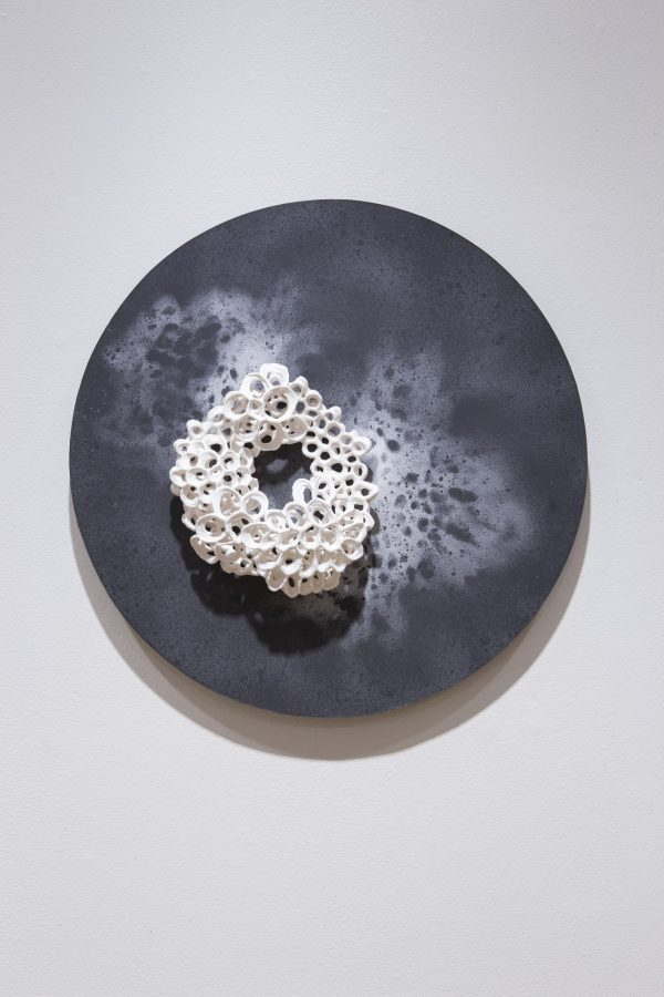 Fragment #2 - Porcelain Paperclay