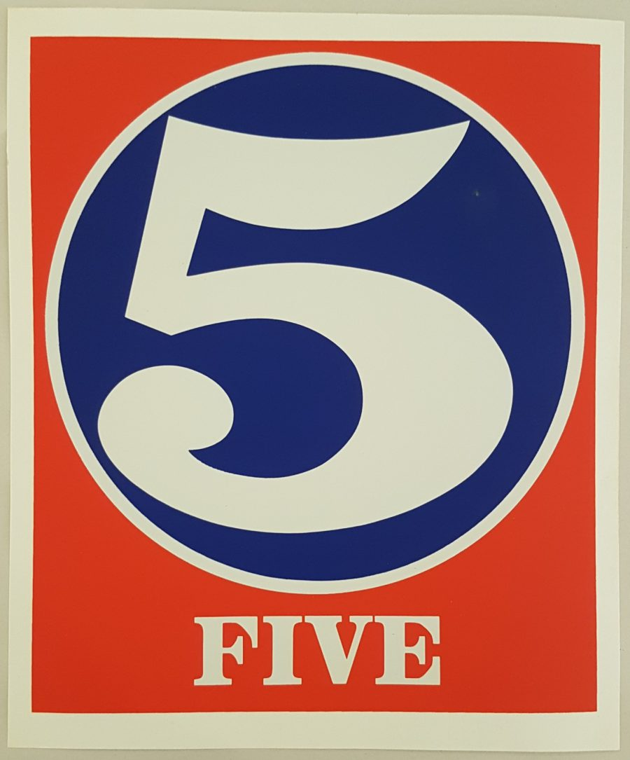 Five - Robert Indiana