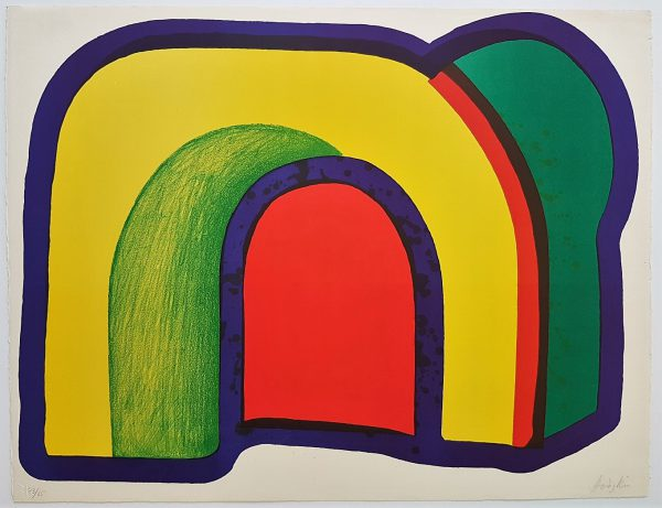 Composition with Red - Howard Hodgkin