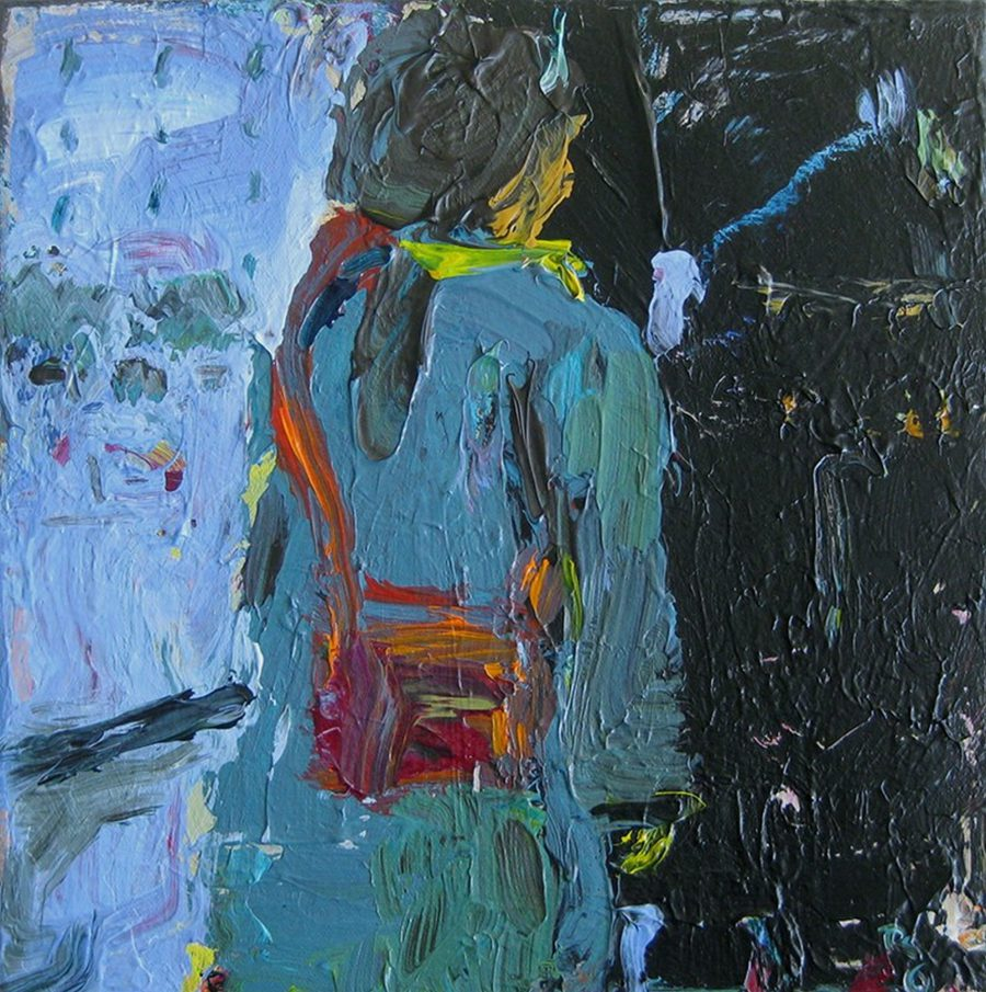 Woman With Purse - Title : Woman With Purse
