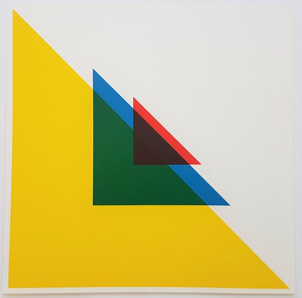 Abstract Geometric Composition - Andreas Christen (* 1936 † 2006)