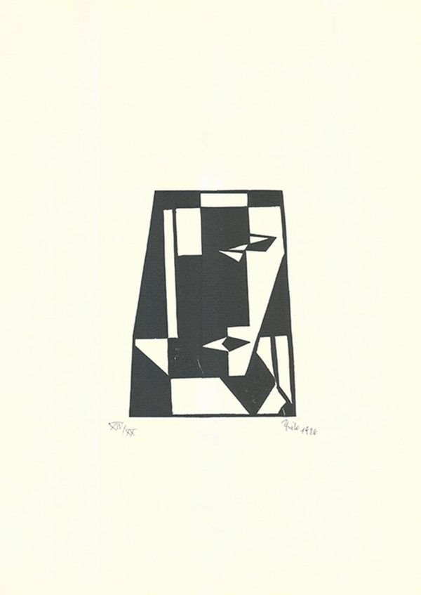 Abstract Geometric Composition - Thilo Maatsch (* 1900 † 1983)