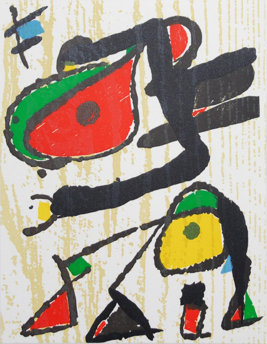 Untitled Composition - Joan Miró
