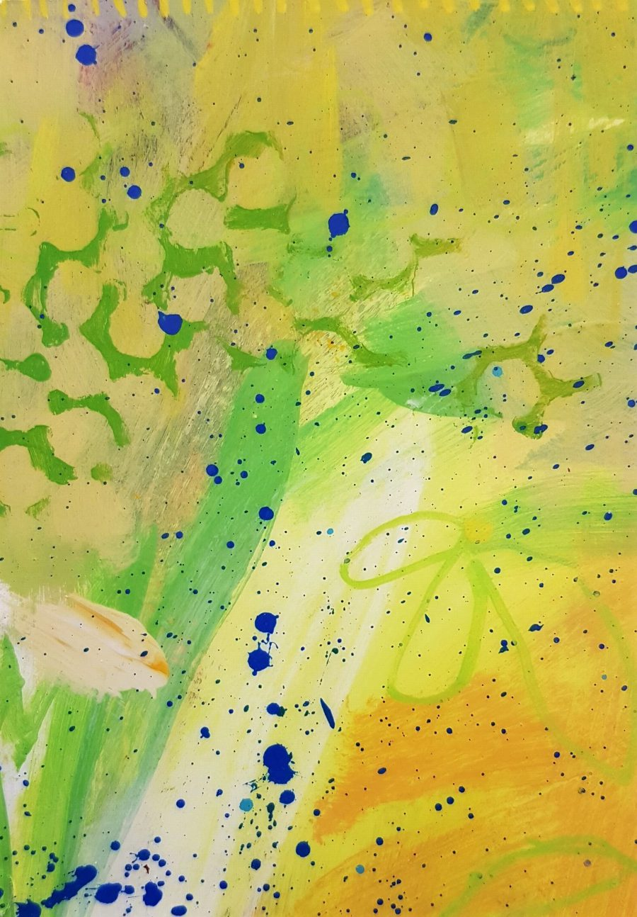 Small Abstract #14 - Katherine Bello