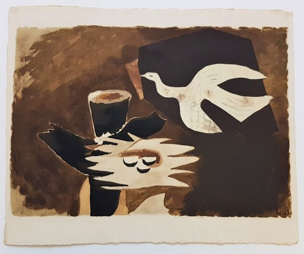 L'oiseau de Feu - Georges Braque (after)