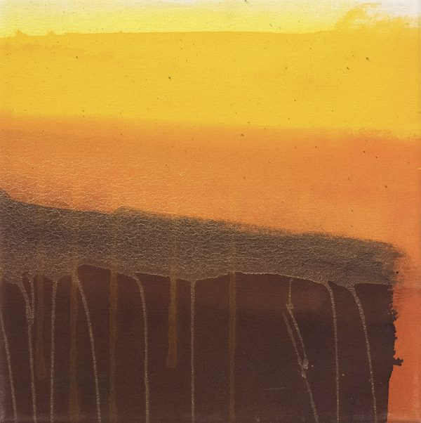 Fourteen Karat 4 - Amber III (with vertical orange) - Jane Booth