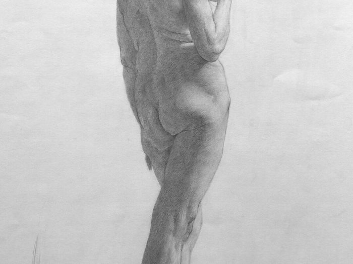 Figure Drawing - Anne Herrero