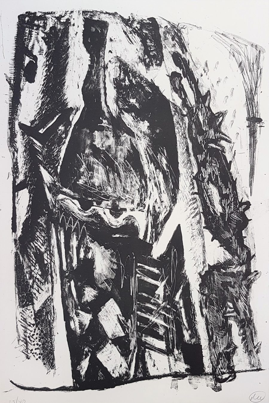 Untitled (Abstract Expressionist Composition
