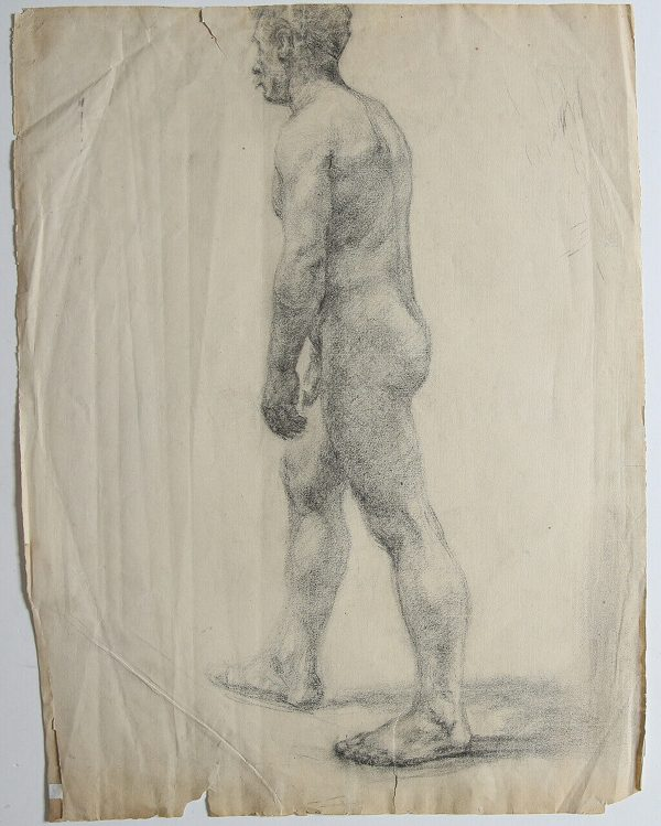 Male Nude - Unknown Artist