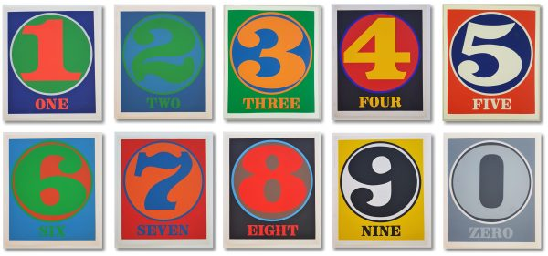 NUMBERS - Robert Indiana