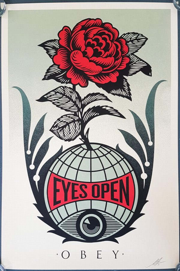 Eyes Open - Shepard Fairey