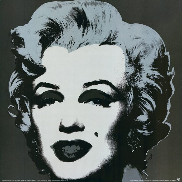 Marilyn - Gray - Andy Warhol (after)